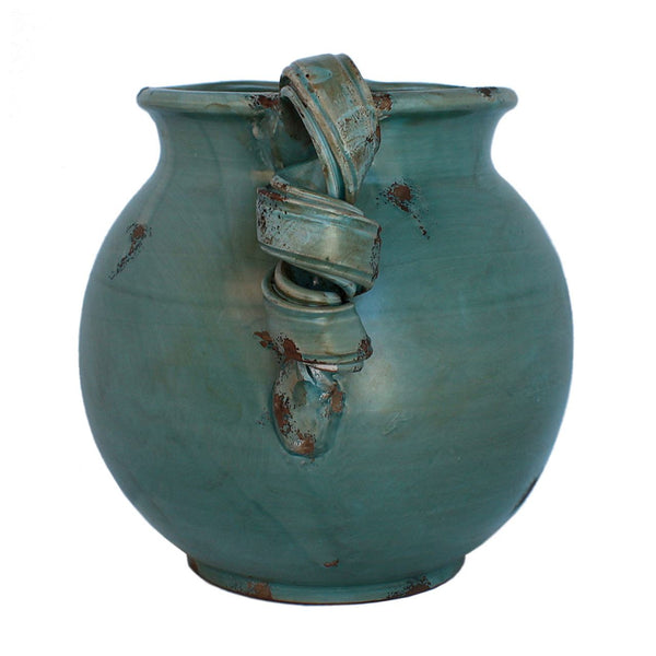 Hand Made italian arno pottery pitcher clay ceramic