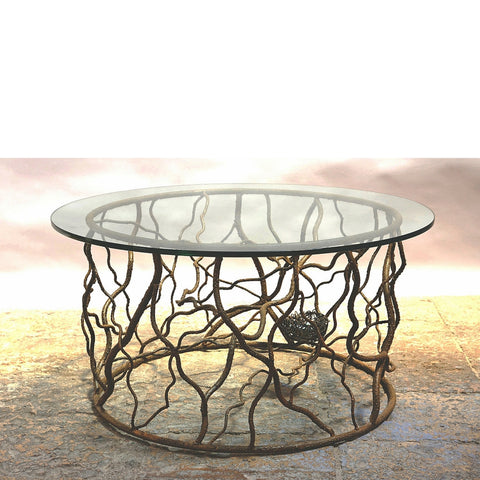 Union Drum Table with Floating Top