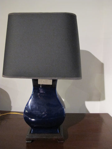 Cobalt Blue Lamp