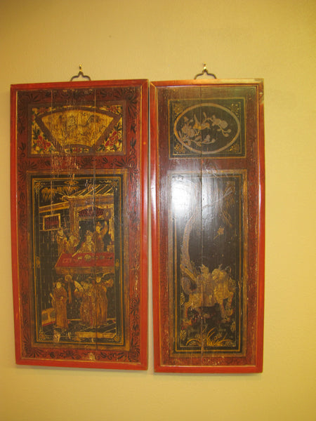 Painted Antique Screens