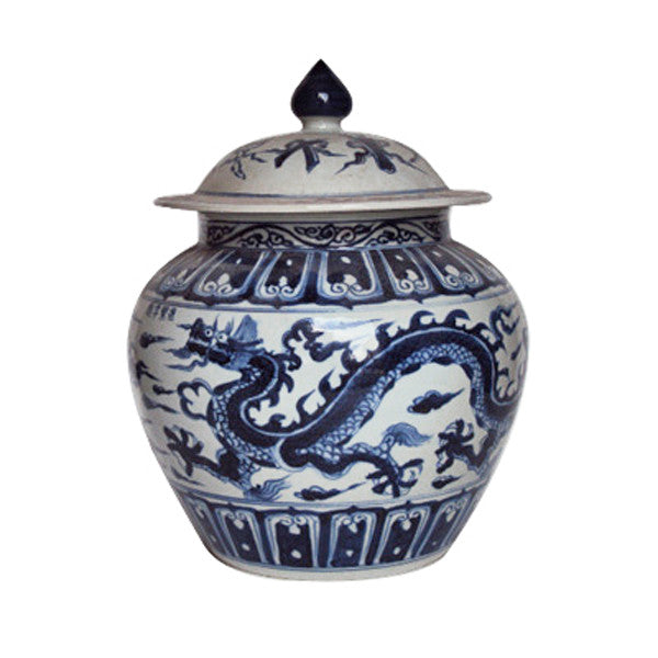 Ginger Jar with Dragon Motif