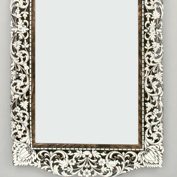 Rectanglular Framed Fancy mirror