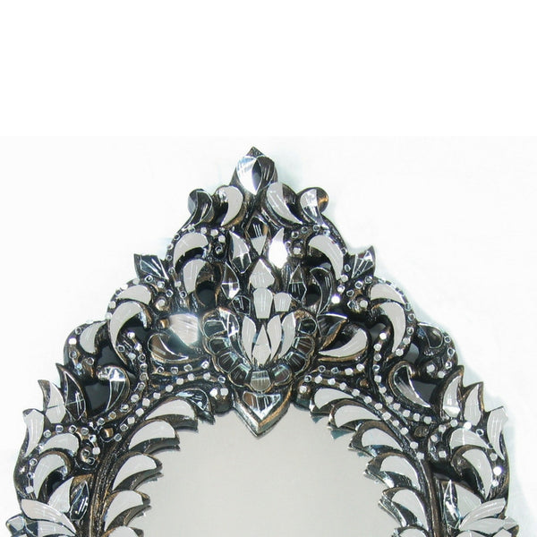 Ornate oval Wall Mirror