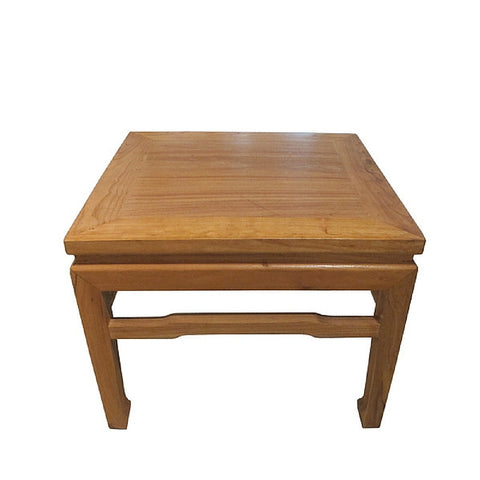 Natural Square Traditional Wooden Square Stools