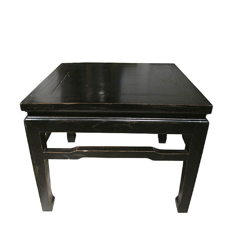 Traditional Black Stool