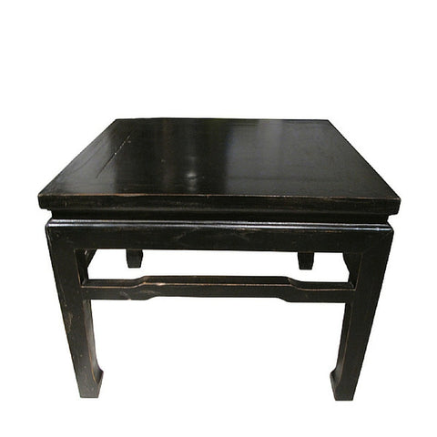 Black Painted TRADITIONAL Chinese Stool