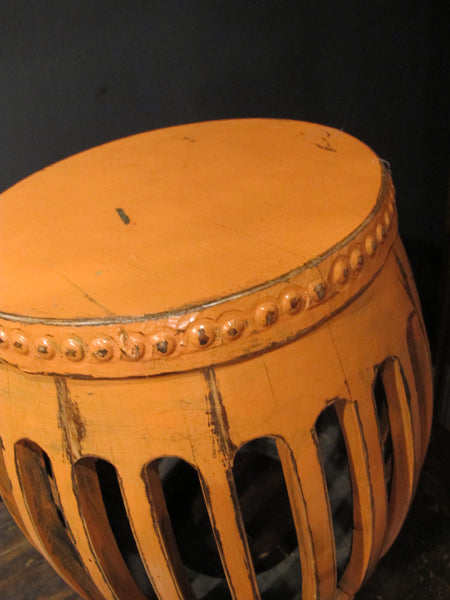 Orange Pumpkin Stool