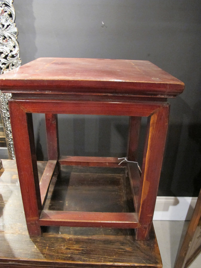 Swell Antique Wooden Stool Gmtry Best Dining Table And Chair Ideas Images Gmtryco