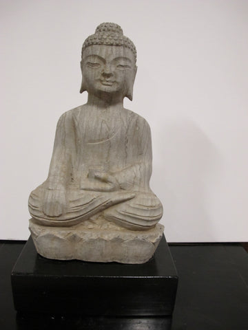 Antique Carved Stone Buddha