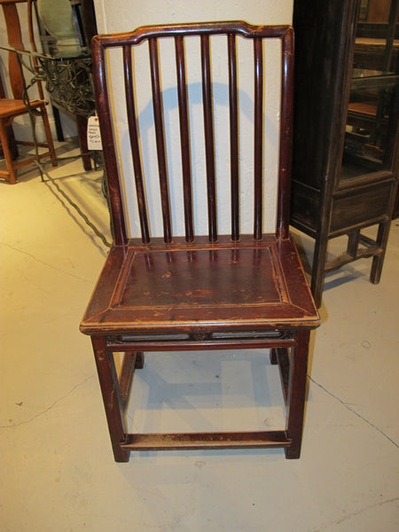 Chinese Antique Elmwood Side Chair