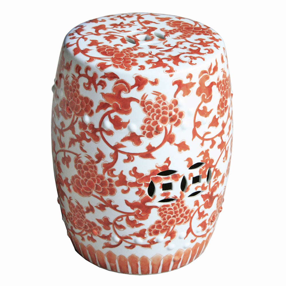 Twisted Lotus Garden Stool