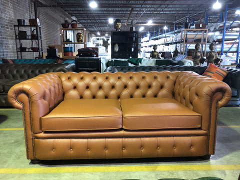 2 seater London in Deluxe Cinnamon