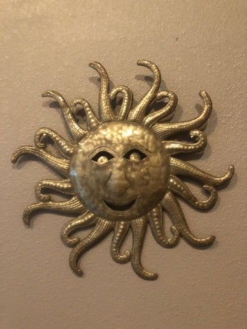 Haitian Hand Crafted Happy Sun