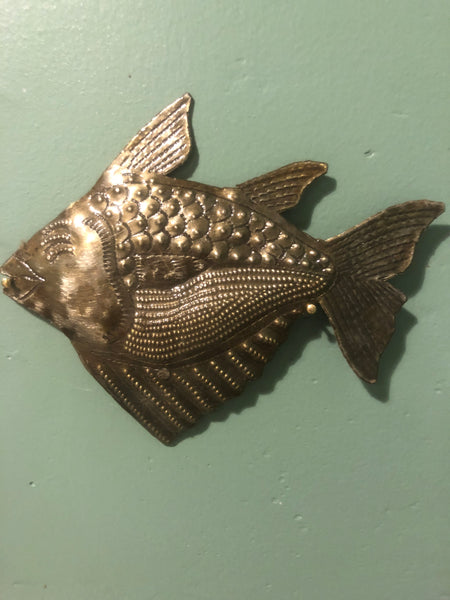 Haitian Handcrafted Fish Motif
