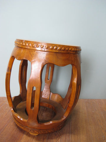 Natural Pumpkin Stool