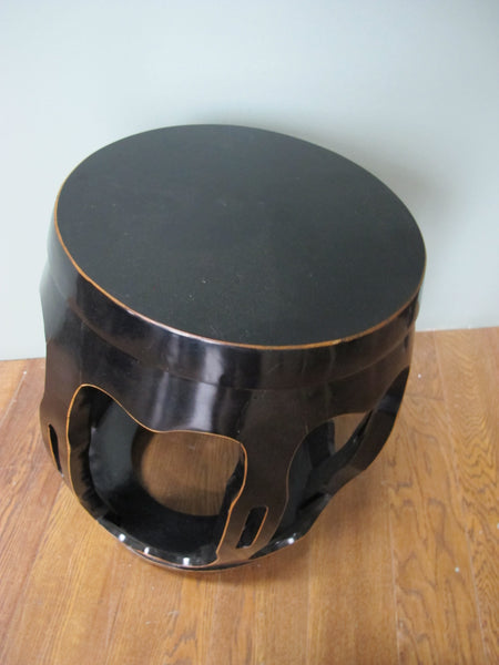Black Pumpkin Stool