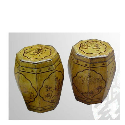 Antique Chinese Rice Buckets