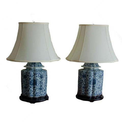 Ginger Jar Chinese Porcelain Lamps