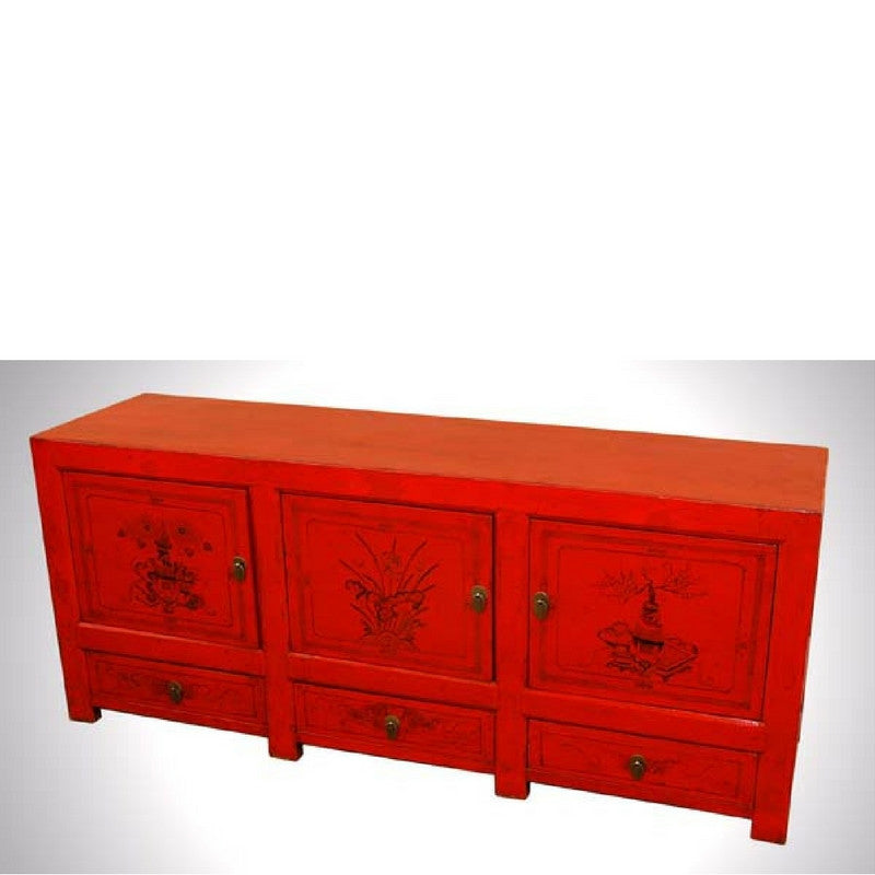 Mongolian Antique Sideboard