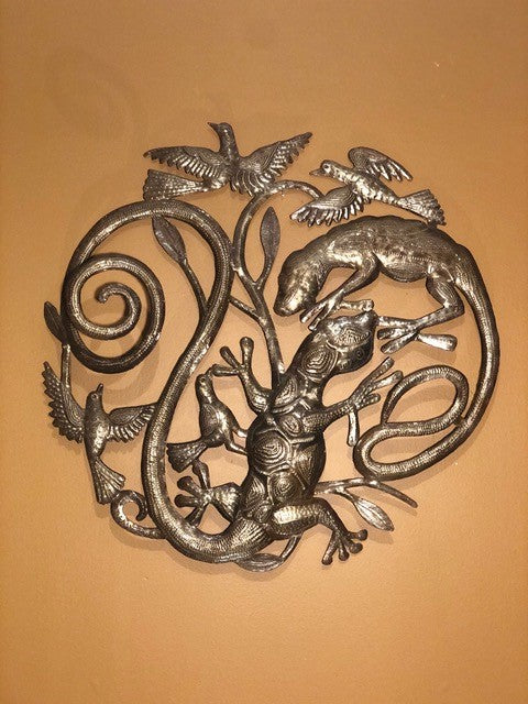 Gekko Themed Tree of Life