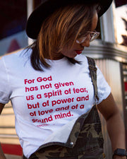 2 Timothy 1:7 Adult T-Shirt