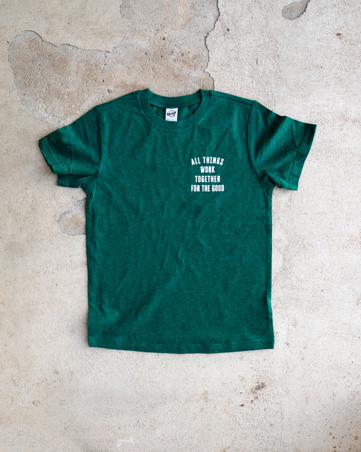 All Things Work Together Kids Pocket T-shirt