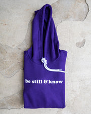Be Still & Know Adult Pullover