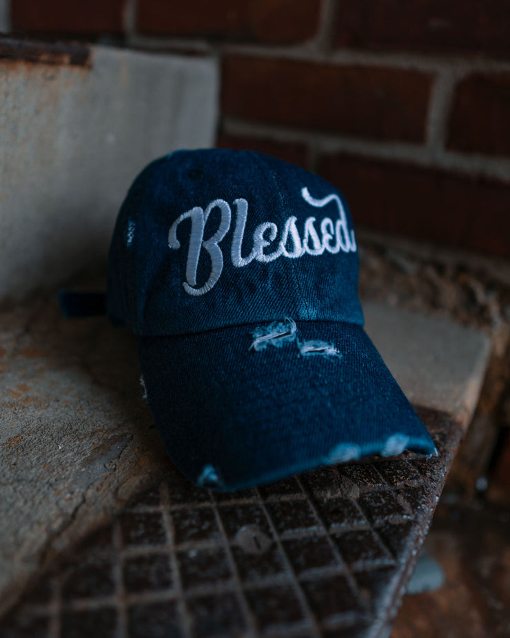 Blessed Adult Dad Hat (Distressed)