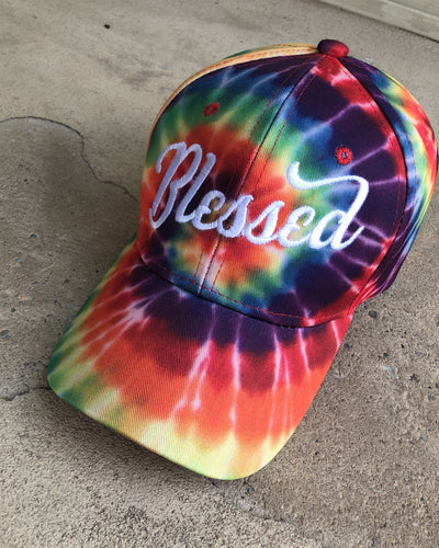 Blessed Adult Dad Hat (Tie-Dye)