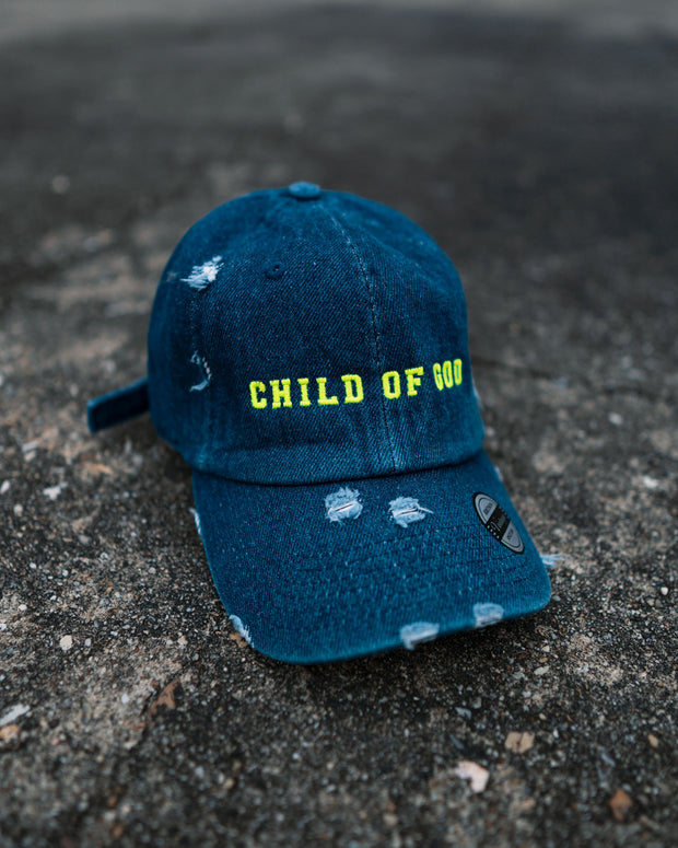 Child of God Kids Dad Hat (Distressed)