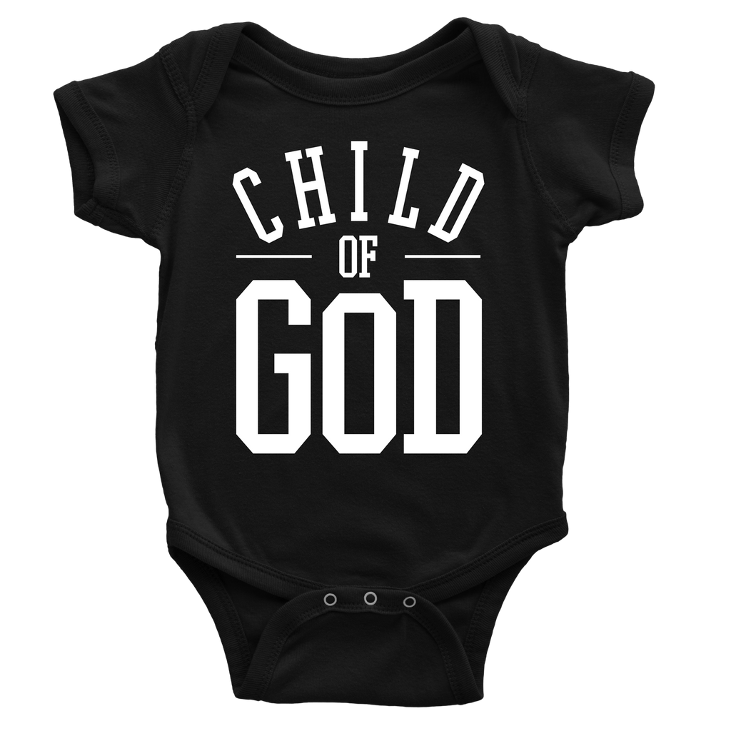 Child of God Onesie - Beacon Threads - 3-6M / Black - 1