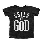 Child of God Infant Tees - Beacon Threads - 12-18M / Tri-Black w/ White Lettering - 1