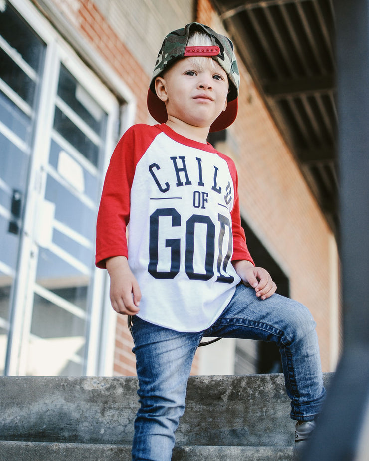 Child of God Kids Raglan