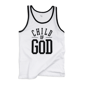 Child of God Adult Jersey Tank