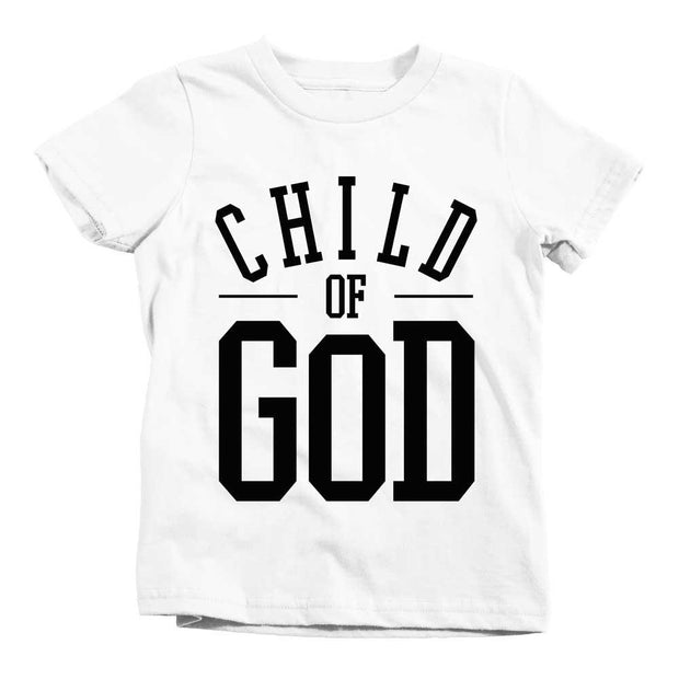 Child of God Tee - Beacon Threads - 2T / White w/ Black Lettering - 2