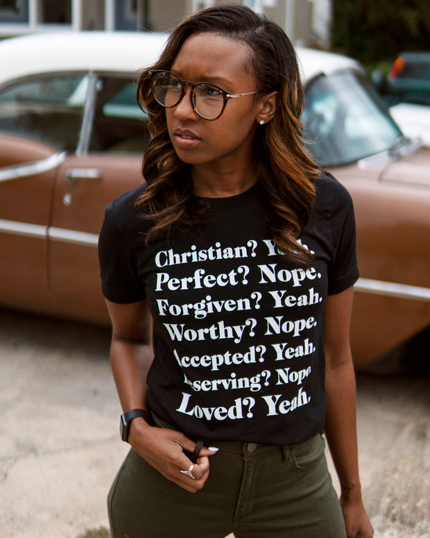 Christian? Yeah. Adult T-Shirt