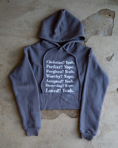 Christian Yeah Women's Cropped Fleece Hoodie