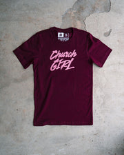 Church Girl Adult T-shirt
