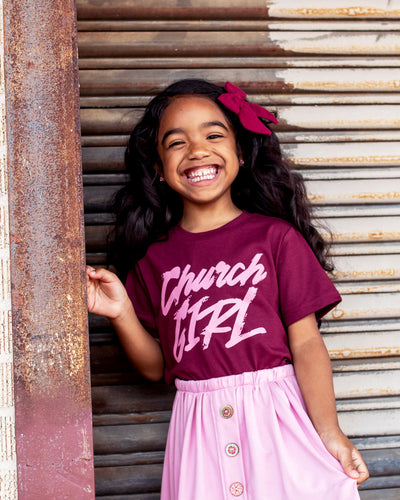 Church Girl Kids T-shirt
