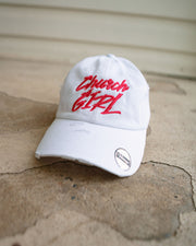 Church Girl Adult Dad Hat (Distressed)