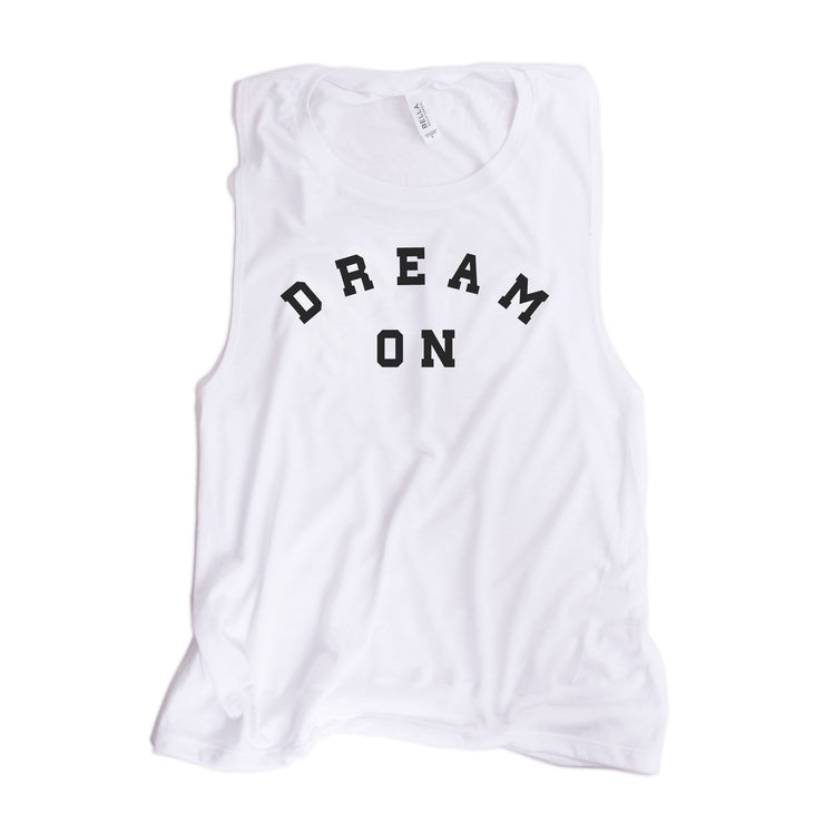Dream On Women's Muscle Tank