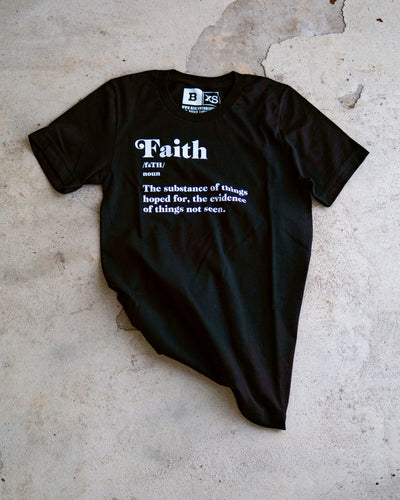 Faith Adult T-Shirt