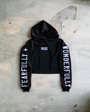 Fearfully + Wonderfully Made Women's Cropped Fleece Hoodie