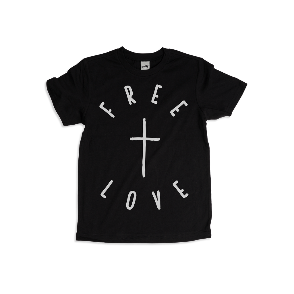 Free Love Kids T-shirt