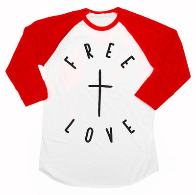 Free Love Raglan - Beacon Threads -
