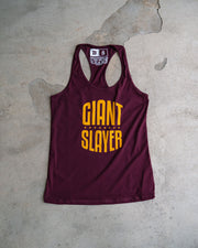 Giant Slayer Womens Racerback Tank