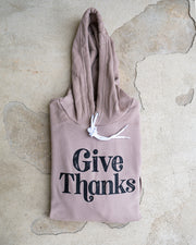 Give Thanks Adult Pullover