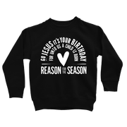 Go Jesus Sweatshirt - Beacon Threads - 2T / Black w/ White Lettering - 2