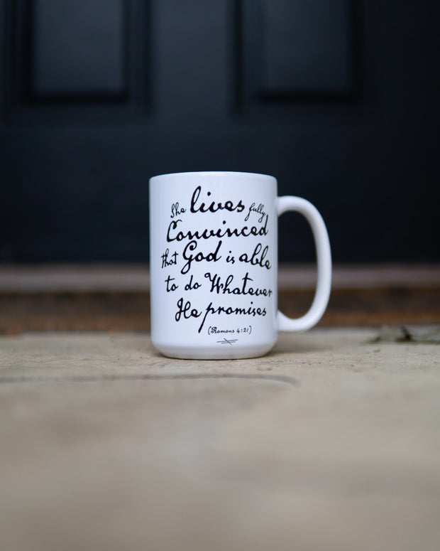 God is Able 15oz Mug