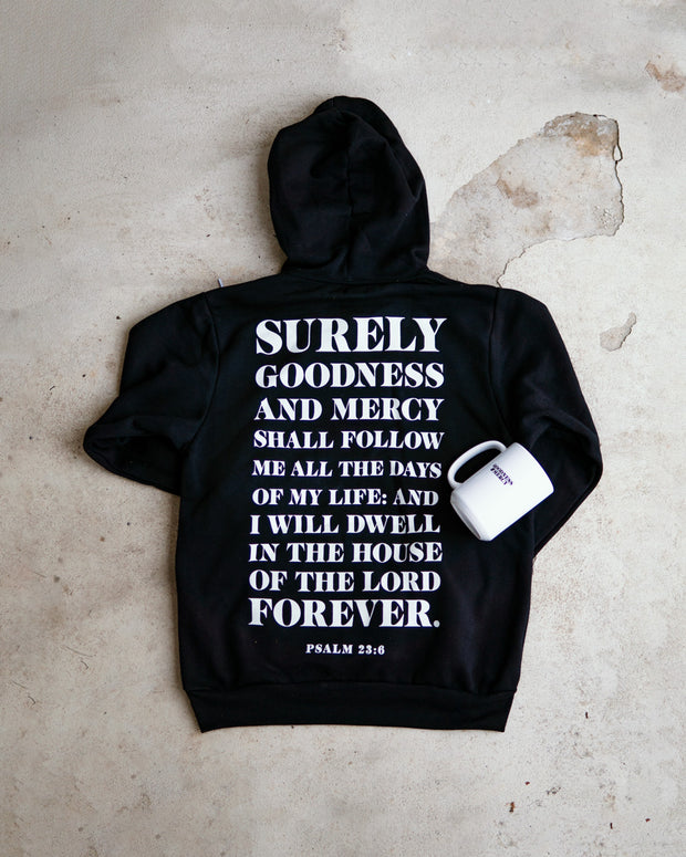 Goodness and Mercy 2pc Special (Hoodie + Mug)